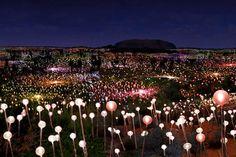 Lighting up Uluru   Ayers Rock (Condé Nast Traveller)