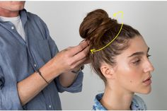 The Easiest Messy Bun in the World! | Beautylish