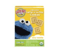 Earth's Best Letter of the Day Organic Cookies - Very Vanilla, 5.3 Ounce