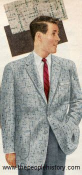 Wool Sport Coat Set 1956