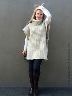 EPattern Crochet Poncho patrón moderno estilo por bubnutPatterns …