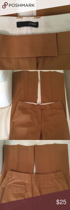 J. Crew career slacks. Sz 4-6. Pre-owned like New Condition. 36inch inseam. 9inch foot hole. J. Crew Pants Wide Leg