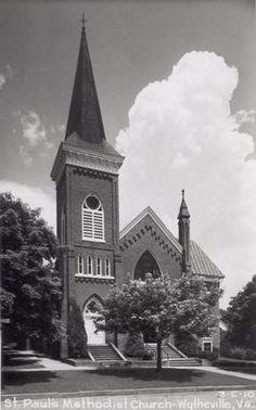 St. Paul's Methodist Church, Wytheville, 1940s