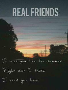 Real Friends. Summer.
