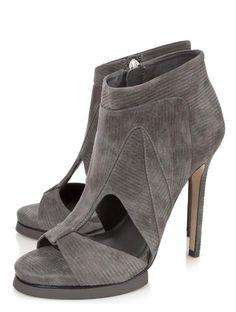 Camilla Skovgaard :: Eye Cut Out Peeptoe Bootie :: Boots - Shoes - Shoes & Handbags