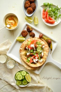 Falafel wraps recipe