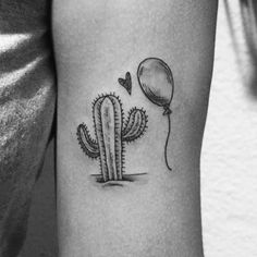 Do flash de hoje, do dia dos namorados! #tattoo #tatuagem #ink #blackwork #drawing #desenho #illustration #art #tattooflash #valentines #lovers #cactus #balloon #cute