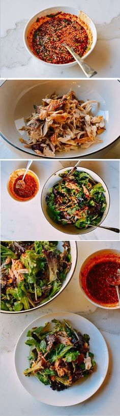 Spicy Chicken Salad Recipe by The Woks of Life