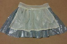 Misses Alice In Wonderland Inspired Running Skirt.