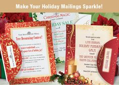 Holiday Border Papers - Mailings for Invitations and Announcements | PaperDirect