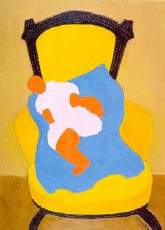 Avery, Milton (1898-1965) - 1944 The Baby by RasMarley, via Flickr