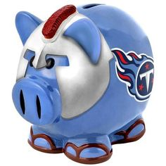 Tennessee Titans NFL Team Thematic Piggy Bank (Small)