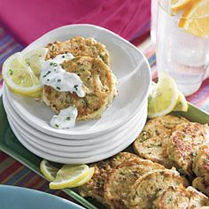 40 Party Appetizer Recipes | Mini Crab Cakes | SouthernLiving.com