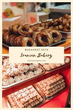 Budapest Eats: Iranian Bakery – Denae McGaha  #budapest Budapest, Cookie Press, Shortbread Cookies, Iranian, Bakery, Yummy Food, Treats, Breakfast, Sweet