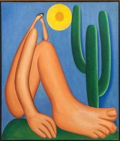 Tarsila do Amaral: Inventing Modern Art in Brazil at MoMA Museum Of Fine Arts, Museum Of Modern Art, Arte Latina, Plastic Art, Arte Popular, Art Database, Naive Art, New Art, Art History