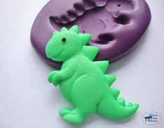 TRex Dinosaur Mold  Silicone Mold  Kids Crafts  by BlueGoatStudio, $5.00