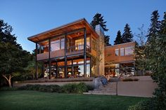 Lake House Two by McClellan Architects