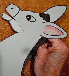 Bible Class Creations: Balaam's Talking Donkey Craft