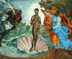 Harmonia Rosales, 'Birth of Oshun', 2017
