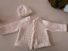 Our Knit & Natter Group created this lovely outfit for sale!