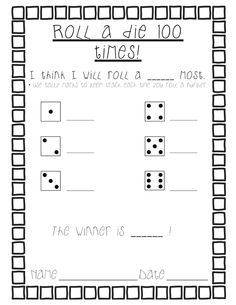 Here's a great post with a couple of activities and reproducibles for the 100th day.
