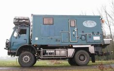 Left side of the Mercedes Benz 1719A 4x4 Expedition Truck