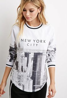 New York City Sweatshirt | Forever 21 - 2000142081