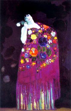 Granadina (Woman of Granada), Hermenegildo Anglada Camarasa, fauvisme - Figurative Kunst, Spanish Art, Spanish Painters, Art Et Illustration, Henri Matisse, Art Design, Oeuvre D'art, Art History, Modern Art