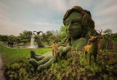 Megacurioso - Esculturas incríveis dão vida ao Jardim Botânico de Montreal