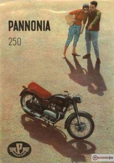 Pannonia 250 Vespa Motorcycle, Motorcycle Posters, Car Posters, Retro Posters, Vintage Bikes, Vintage Motorcycles, Cars And Motorcycles, Retro Vintage, Retro Bike
