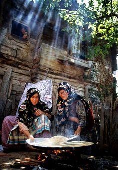 Anadolu'nun Gözleri belgesel çekimlerinden... Fotoğraf: Cemalettin Irken