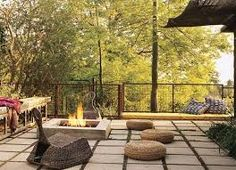 sunken outdoor seating area - Google Search