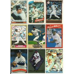 HUGE 75 DIFFERENT YANKEES cards lot Jeter Mattingly Maas HOFers Boggs Henderson Listing in the 1980-1989,Lots,MLB,Baseball,Sports Cards,Sport Memorabilia & Cards Category on eBid United States | 147730173