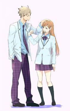 Gender bent shirabu with eita
