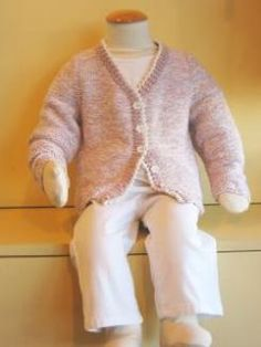 Child's Classic Knitted Cardigan