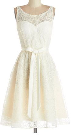 Ivory Lace Dress http://rstyle.me/n/h86benyg6