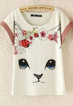 Products by Cute Kawaii {harajuku fashion} - Online Store Powered by Storenvy Pretty Outfits, Cute Outfits, Trendy Baby Boy Clothes, T Shirt Painting, Cat Pattern, Harajuku Fashion, Cat Shirts, Cotton Style, Teen Fashion