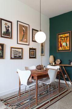 Экскурсия По Дому: Теплый, Эклектика Во Всем Мире Торонто Апартаменты | Квартира Терапия