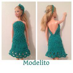 Vestido de croche Barbie