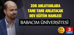 Dün Türkiye Uykudayken TÜRGEV in üniversite kurmasını öngören yasa tasarısı TBMM kabul edildi  http://www.haber3.com/bilal-erdogan-universite-kuruyor-3290421h.htm…
