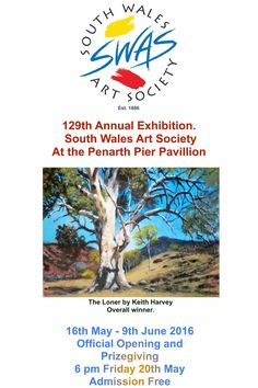 129th Annual Exhibition Poster by Chris Langley.