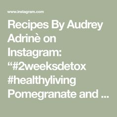 """Recipes By Audrey Adrinè on Instagram: """"#2weeksdetox #healthyliving  Pomegranate and cherry tomato salad inspired by the book """"Plenty More""""  For 4 servings you will need:  1.5 cup…"""" Cherry Tomato Salad, Cherry Tomatoes, Pomegranate, The Book, Detox, Salads, Healthy Living, Inspired, Books"""
