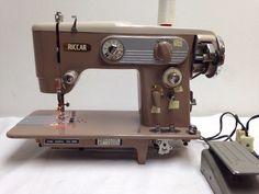 RICCAR Sewing Machine Model RZ-104B Vintage HEAVY DUTY Sew Stitch Vintage 104B #Riccar