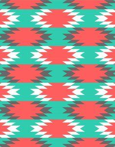 Aztec 7 Art Print by Samantha Ranlet