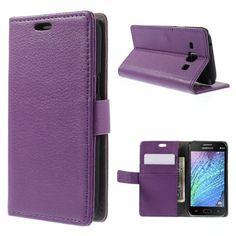 Köp Plånboksfodral Samsung Galaxy J1 lila online: http://www.phonelife.se/planboksfodral-samsung-galaxy-j1-lila