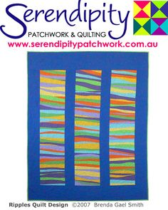 Ripples Quilt Pattern by Serendipity Patchwork & Quilting
