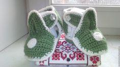 Купить пинетки сандалики. - зеленый, пинетки, пинетки для новорожденных, пинетки в подарок, пинетки вязаные