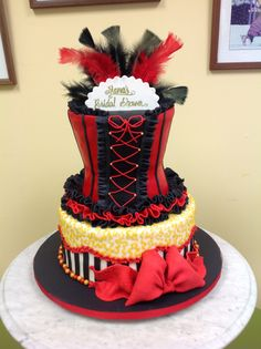 Delicious Treats and Specialty Cakes on Staten Island Burlesque Cake, Cake Cookies, Cupcake Cakes, 30th Birthday, Birthday Cake, Corset Cake, Gothic Cake, Bling Cakes, Pool Party Themes