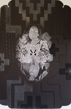 vanessa edwards - Google Search New Zealand Art, Maori Art, Pansies, New Art, Printmaking, Amazing Art, Visual Arts, Kiwi, Drawings