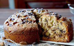 Μία εξαιρετική συνταγή για Βασιλόπιτα κέικ Sweet Recipes, Cake Recipes, Sweet Corner, Almond Cookies, English Food, Food Design, Banana Bread, Buffet, Brunch